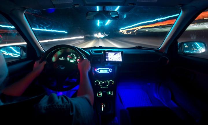 Quan sát kỹ khi lái xe vào ban đêm