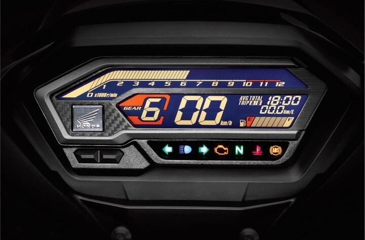 Đồng hồ LCD kỹ thuật số hiện đại